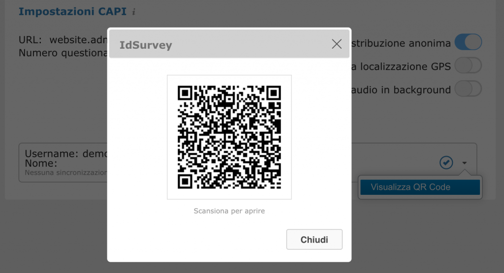 QrCode example